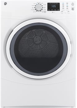 GE GFDN160EJWW - GE 7.5 cu. ft. Capacity Electric Dryer Featured View