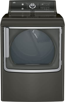 GE GTD86ESPJMC - 28 Inch 7.8 cu. ft. Electric Dryer in Metallic Carbon Finish