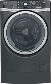 GE RightHeight Design Series GFW490RPKDG - GE Front-Load Washer with Built-In RightHeight Pedestal