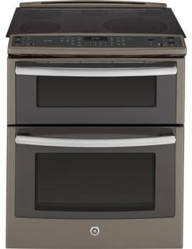 GE Profile PS950EFES - 30 Inch Slide-in Double Oven Electric Range from GE