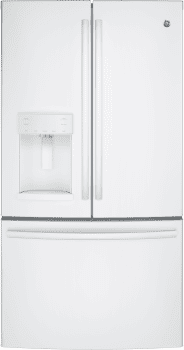 GE GFE26GGKWW - GE ENERGY STAR French Door Refrigerator - White