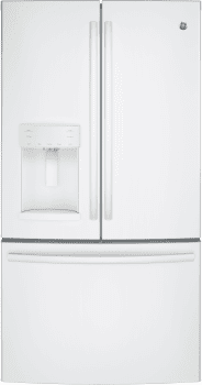 GE GFE28GGKWW - GE ENERGY STAR French Door Refrigerator - White