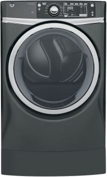 GE RightHeight Design Series GFD49ERPKDG - GE RightHeight Dryer in Gray