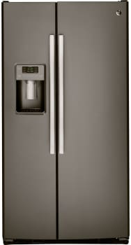 GE GSS23GMKES - GE Side-by-Side Refrigerator with 23.2 cu. ft. Capacity
