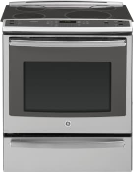 GE Profile PHS920SFSS - GE Slide-In Induction Range