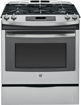 GE JGS650SEFSS - 30 Inch Slide-In Gas Range