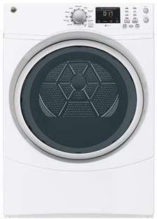 GE GFDN160GJWW - GE 7.5 cu. ft. Capacity Gas Dryer Featured View