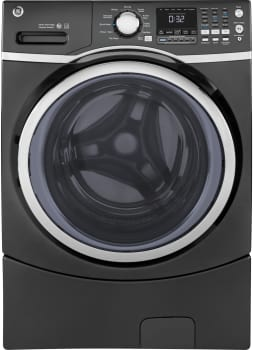 GE GFW450SPKDG - GE ENERGY STAR 4.5 cu. ft. Front-Load Washer with Steam Cleaning in Diamond Gray
