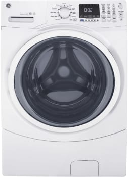 GE GFW450SSKWW - GE ENERGY STAR 4.5 cu. ft. Front-Load Washer with Steam Cleaning in White