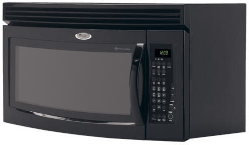 Whirlpool Gh5184xpb 1 8 Cu Ft Over The Range Microwave
