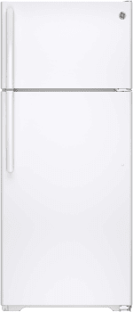 GE GIE18GTHWW - Top-Freezer GE Refrigerator with 17.5 cu. ft. Capacity,