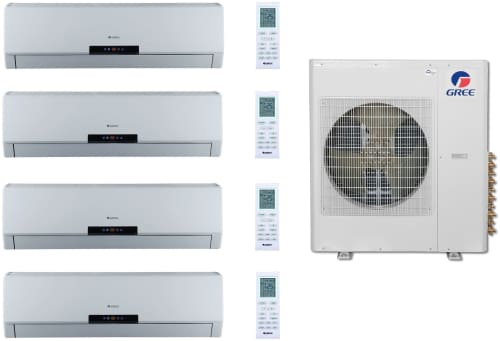 Gree Multi Series GREE42125 - Gree 4 Room Mini-Split System