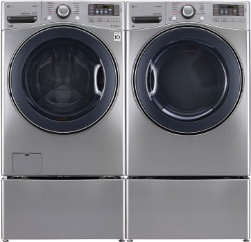 LG LGWADRGGS93 - Side-by-Side with Pedestal