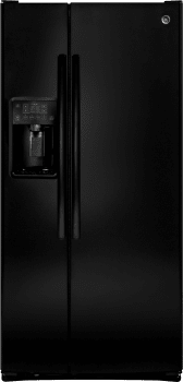 GE GSE23GGKBB - GE 33 Inch Side-by-Side Refrigerator with 23.2 cu. ft. Total Capacity and External Water & Ice Dispenser