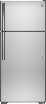 GE GTE16GSHSS - Top-Freezer Refrigerator from GE