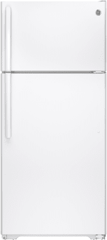 GE GTE16GTHWW - Top-Freezer Refrigerator from GE