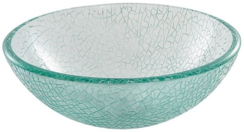 Kraus Broken Glass Series GV50014CH - Broken Glass Vessel Sink