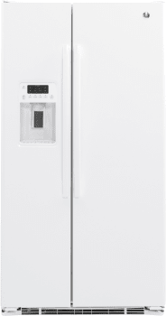 GE GZS22DGJWW - GE Side-by-Side Refrigerator