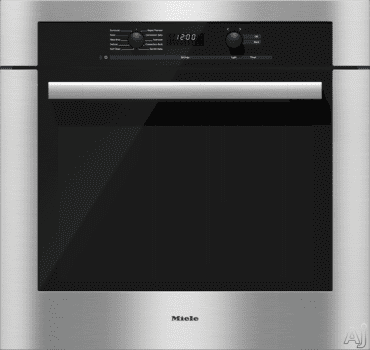 Miele ContourLine DirectSelect Series H6180BP - Clean Touch Steel with ContourLine Handle