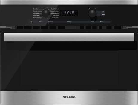 Miele H6200bm 24 Inch Speed Oven With 1 5 Cu Ft Capacity