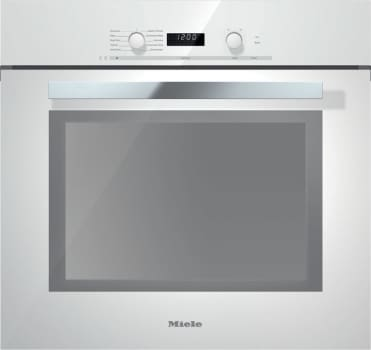 Miele PureLine DirectSelect Series H6280BPBRWS - Brilliant White with PureLine Handle