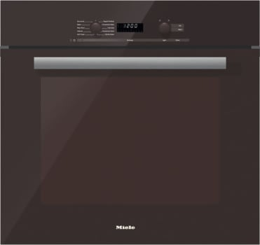 Miele PureLine DirectSelect Series H6280BPTB - Truffle Brown with PureLine Handle