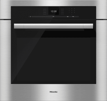 Miele H6S80BP - Clean Touch Steel with ContourLine Design and Handle