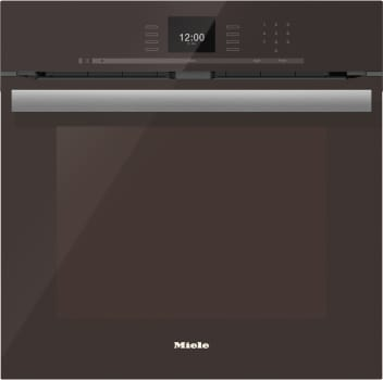 "Miele PureLine SensorTronic Series H6660BPHVBR - 24"" PureLine SensorTronic Convection Oven in Truffle Brown"