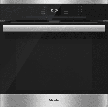 "Miele PureLine SensorTronic Series H6660BP - 24"" PureLine SensorTronic Convection Oven in Clean Touch Steel"