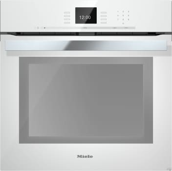 "Miele PureLine SensorTronic Series H6660BPBRWS - 24"" PureLine SensorTronic Convection Oven in Brilliant White"