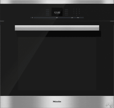 Miele PureLine SensorTronic Series H6680BP - Clean Touch Steel with PureLine Design and Handle