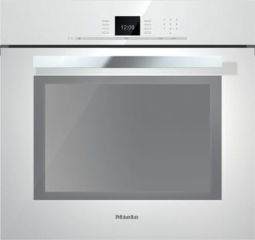 Miele PureLine SensorTronic Series H6680BPBRWS - Brilliant White with PureLine Handle