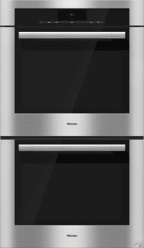 Miele ContourLine M-Touch Series H6780BP2 - ContourLine Double Convection Oven
