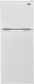 Haier HA12TG21SW - 11.5 Cubic Foot Top Mount Refrigerator - White