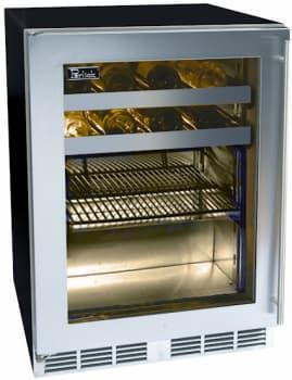 Perlick ADA Compliant Models HA24BB1L - Stainless Steel Glass Door