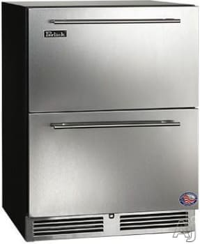 "Perlick ADA Compliant Models HA24FB35 - 24"" ADA-Compliant Freezer Drawers"