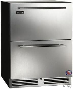 "Perlick ADA Compliant Models HA24RB35 - 24"" ADA-Compliant Refrigerator Drawers"