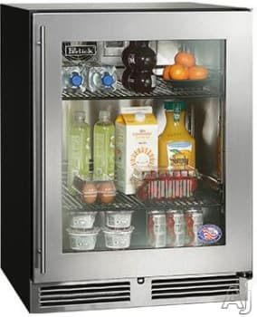 "Perlick ADA Compliant Models HA24RB34R - 24"" ADA-Compliant Refrigerator (also available for custom panel installation!)"