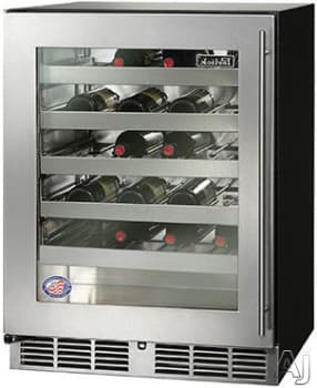 "Perlick ADA Compliant Models HA24WB34L - 24"" ADA-Compliant Wine Reserve (also available for custom panel installation!)"