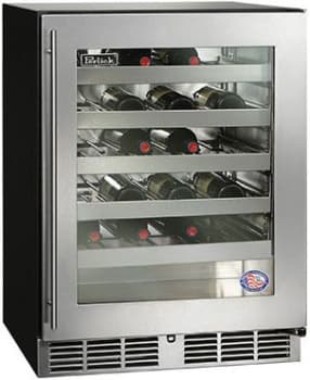 "Perlick ADA Compliant Models HA24WB34R - 24"" ADA-Compliant Wine Reserve (also available for custom panel installation!)"