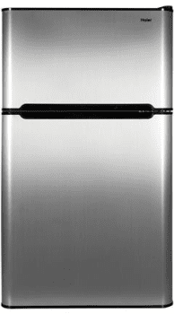 Haier HC32TW10SV - Compact Refrigerator in Virtual Steel Finish