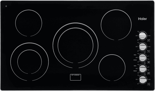 Haier HCC6320AES - 36 Inch Electric Cooktop from Haier
