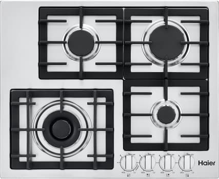 Haier HCC2430AGS - 4 Burner Gas Cooktop