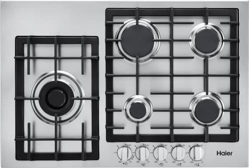 Haier HCC3430AGS - Gas Cooktop with 5 Burners
