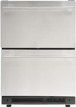 Haier DD410RS - Dual Refrigerator Drawers from Haier
