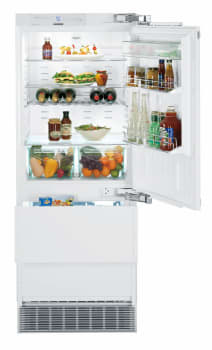 Liebherr Hc1550 30 Inch Fully Integrated Refrigerator With Dual Freezer Drawers By