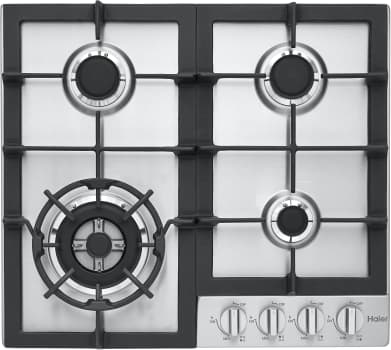 "Haier HCC2230AGS - 24"" Gas Cooktop with Powerful Front-Left 15,300 BTU Burner"