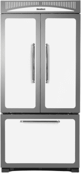 "Heartland Classic Collection HCFDR23WHT - 36"" Heartland Classic French Door Refrigerator - Featured View"