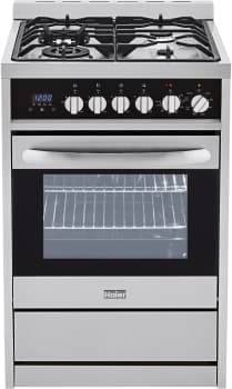 "Haier HCR2250ADS - 24"" Dual Fuel Freestanding Range with 2.0 cu. ft. Capacity"
