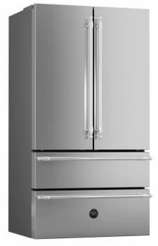Bertazzoni Heritage Series HERHK36REF - Handles shown on REF36X refrigerator